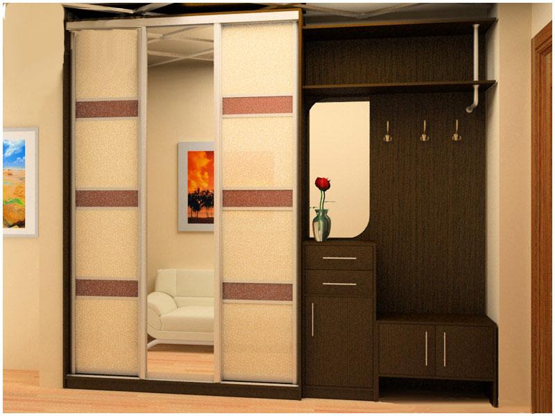 Дизайн прихожей: шкафы и конструкции.